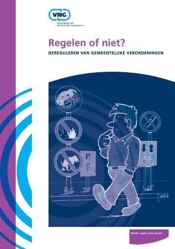Regelen of niet? - Vereniging van Nederlandse Gemeenten