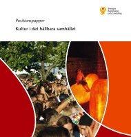 Positionspapper Kultur i det hållbara samhället - Webbutik ...