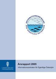 Årsrapport 2005 - Länsstyrelsen i Stockholms län
