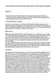 Referat fra generalforsamling. - Hedensted St. Dalby Jagtforening