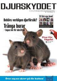 nr 1 2008.indd - Djurskyddet Sverige