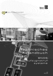 Technisches Handbuch BNOS ... - Telecom Behnke