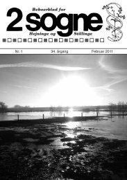 Beboerblad for Hejninge og Stillinge - Hejninge Stillinge