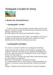 Pdf til print af Søtorps Pædagogisk læreplan - Rødovre Kommune