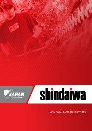 Zahradní technika Echo a Shindaiwa