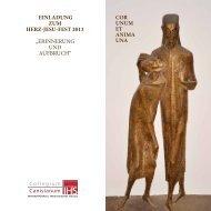 Folder Einladung Herz-Jesu-Fest 2013... - Collegium Canisianum
