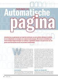 Automatisering van paginaopmaak was lange ... - Yuri van Doesum