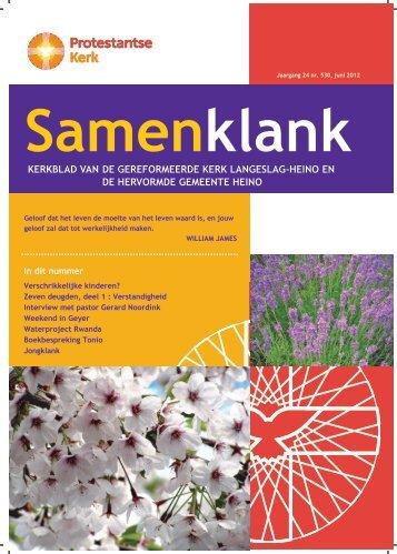 Samenklank juni 2012 - PKN Heino - Langeslag