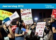 Jaarverslag 2012 - Een Ander Joods Geluid