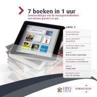 7 boeken in 1 uur - Conversio Management & Consultancy
