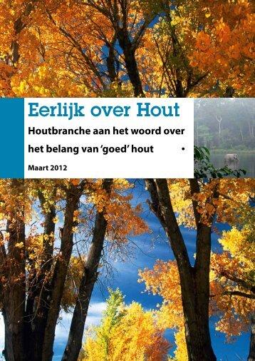Eerlijk over Hout - Editie 2012 - Houtwereld