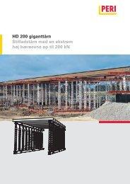 HD 200 giganttårn Stilladstårn med en ekstrem høj ... - Peri Norge AS