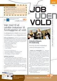 Nyhedsbrevet Job uden Vold, februar 2012 - Vold-Som-Udtryksform
