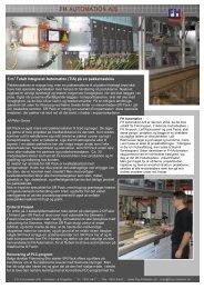 5 m2 Totalt Integreret Automation (TIA) på en pakkemaskine
