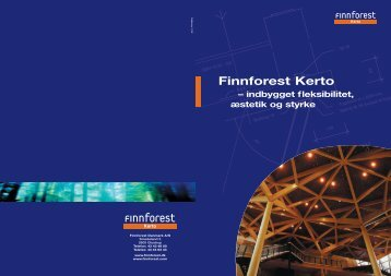 Finnforest Kerto - Goda Rum