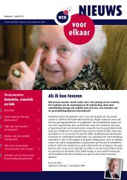 WZH Nieuws voor elkaar nr. 2 april 2011.