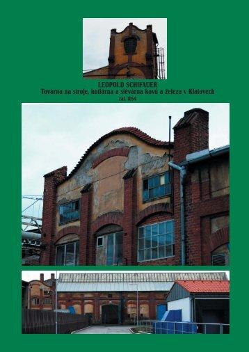 LEOPOLD SCHIFAUER Továrna na stroje, kotlárna a slévárna kovů ...