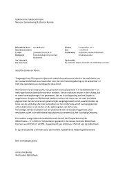 Exploitatiebegroting Centrale Bibliotheek ... - Bouwput Utrecht