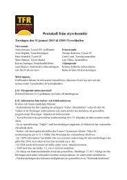 2013-01-31 TFR protokoll.pdf - Tyresö kommun