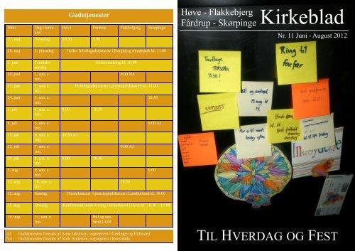 Juni-august 2012 - Flakkebjerg Sogn