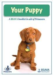 Your Puppy - BSAVA - Border Vets