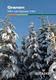 Broschyren Granen vårt vanligaste träd (pdf) - Sveaskog