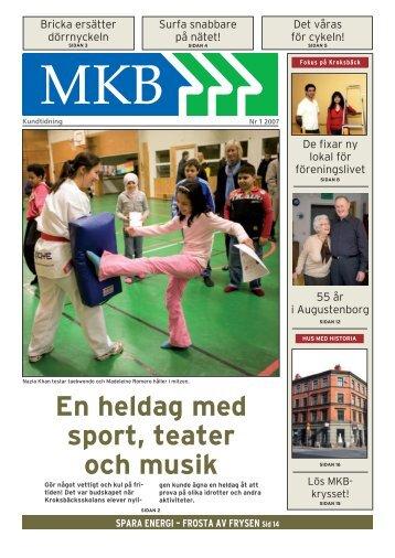 En heldag med sport, teater och musik - MKB Fastighets AB