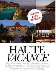 vacance ultiem Luxe reizen! - Madiba Travel