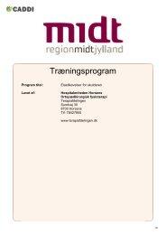 Træningsprogram - elastik træning til skulder