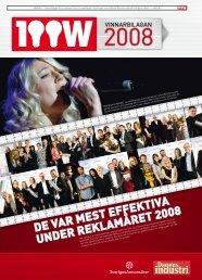 Vinnarbilaga 100-wattaren 2008.pdf - Sveriges Annonsörer