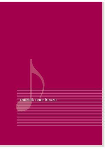 Muziekboek - Den en Rust