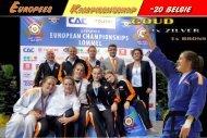Europees kampioenschap -20 Belgie - Judo Galery 4 All................