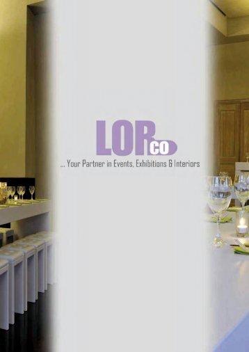 brochure 2012 - LorCo