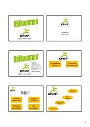 Uppföljnings- program Nationellt kvalitetsregister Förhindra ... - CPOP
