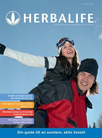 Din guide till en sundare, aktiv livsstil - Herbalife International