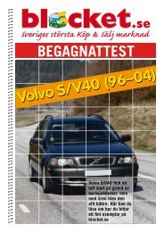 begagnattest: VOLVO s40/V40