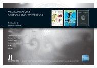 MEDIADATEN 2012 DEUTSCHLAND/ÖSTERREICH