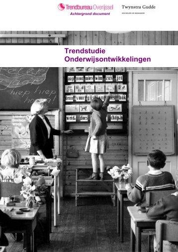 Onderwijs - Trendbureau Overijssel