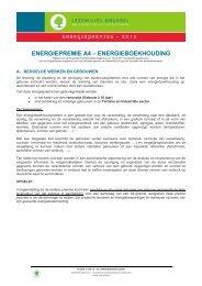 energiepremie a4 – energieboekhouding - Leefmilieu Brussel