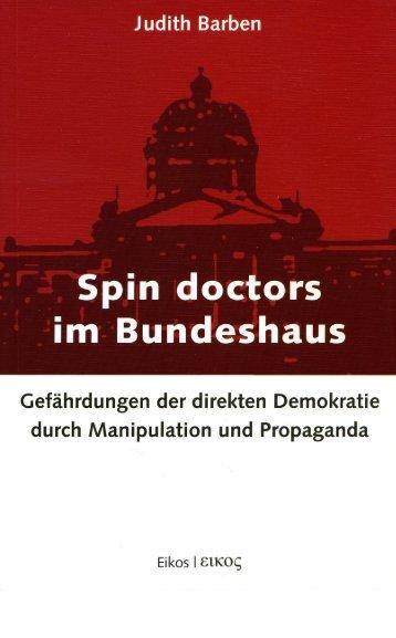Judith Barben - Spin Doctors im Bundeshaus