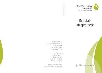 Knieprothese.pdf (594 Kb) - GasthuisZusters Antwerpen