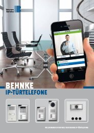 Ip-Türtelefone - Telecom Behnke