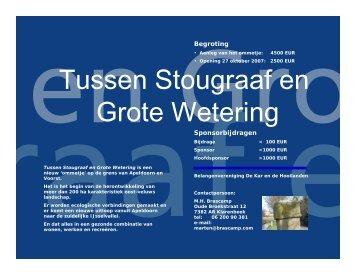Tussen Stougraaf en Grote Wetering