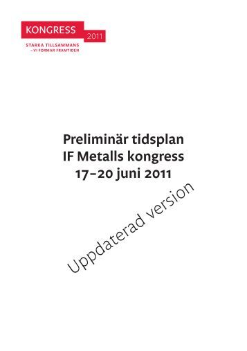 Uppdaterad version - IF Metall