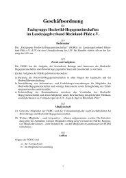 Geschäftsordnung FGHG - Landesjagdverband Rheinland-Pfalz