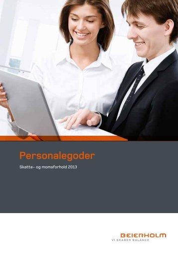 Personalegoder 2013 - Beierholm