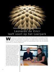 Leonardo da Vinci leeft voort op het Leerpark - Leonardo Experience