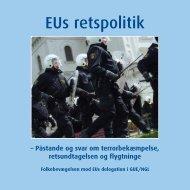 EUs retspolitik - Folkebevægelsen mod EU