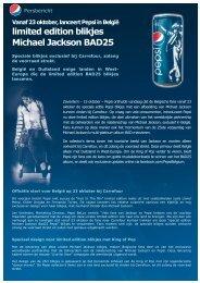 limited edition blikjes Michael Jackson BAD25 - Prezly