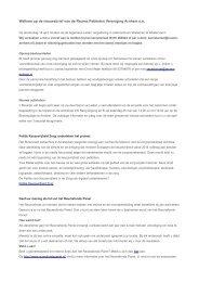 nieuwsbrief maart 2013 - Reuma Patiënten Vereniging Arnhem eo